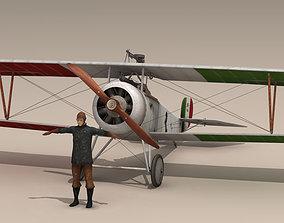 Nieuport 17 Baracca 3 3D