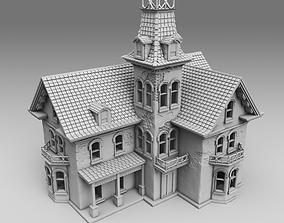 hotel Medieval house 3D printable model