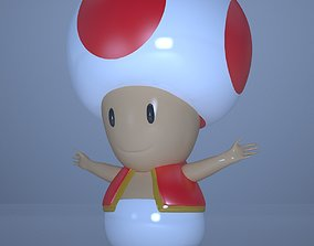Toad From Mario Kart 3D model