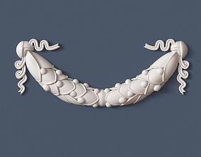 decorative 3D model Swag Onlay