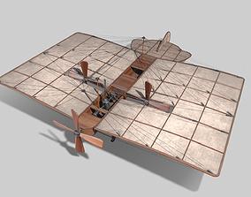 3D model Airplane of Mozhaysky