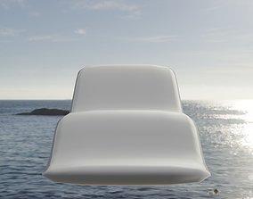 3D asset Loungechair
