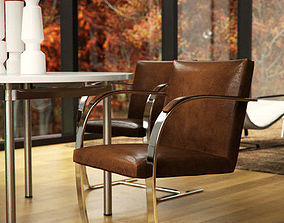 Brno Chair 3D model