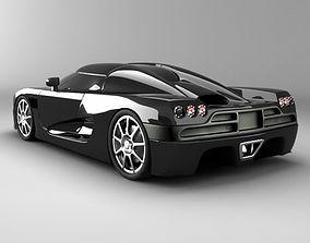 3D Koenigsegg CCX std mat