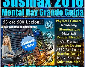 Corso 3ds max 2016 Mental Ray Grande Guida 3 mesi