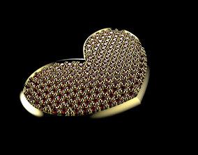 PAVE HEART PENDANT looks 3D print model