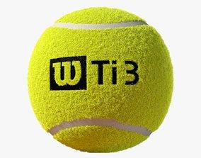 3D Tennis Ball Fluff
