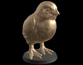 Gold Chick 3D print model