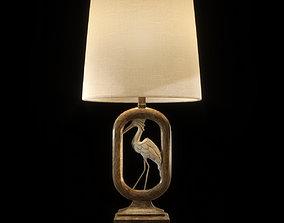 3D model Crane Table Lamp
