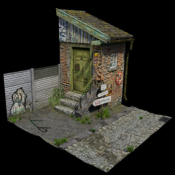 Environmental Diorama No. 1 (Blender & Unreal Engine)