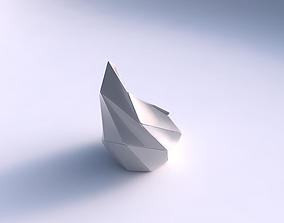 3D printable model Vase Tide with huge plates