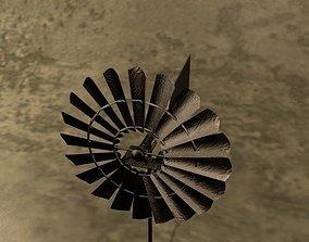 Wind Mill 3D asset