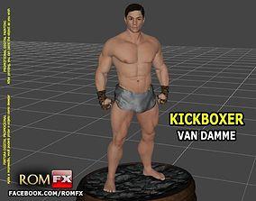 Van Damme Kickboxer - 3D Printable Figure