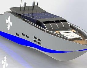 3D model Jacht