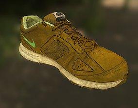 low-poly Worn Nike shoe low poly 3D model