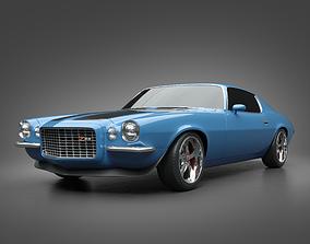 camaro 1972 Chevrolet Camaro Z28 3D