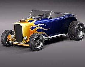 3D model 1932 HotRod Custom Roadster
