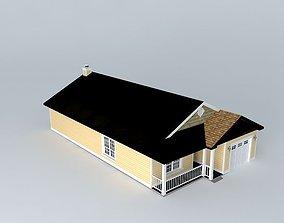 Small House 3D model tiny