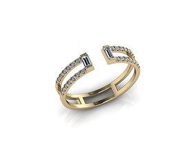 luxury brilliant Jewelry Ring 3D printable model