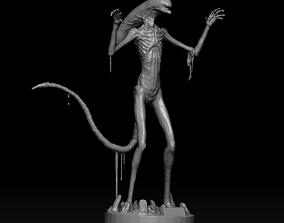 3D Alien covenant chestburster statue