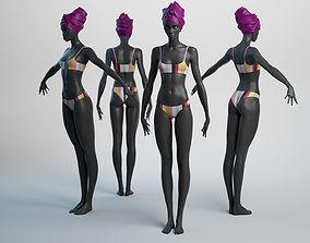Female Basemesh 05 3D model