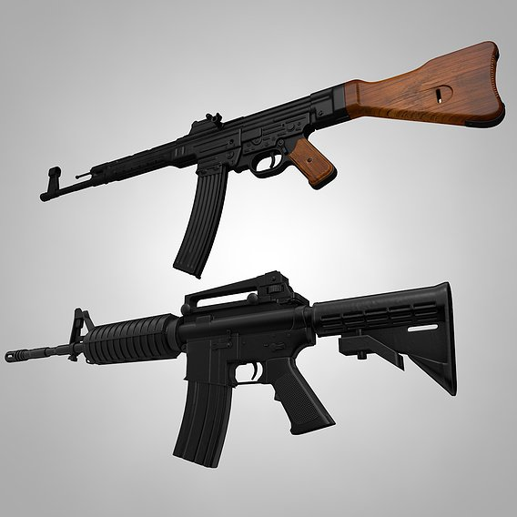 Rifles Collection Army Weapons