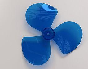 3D model Fan Blade