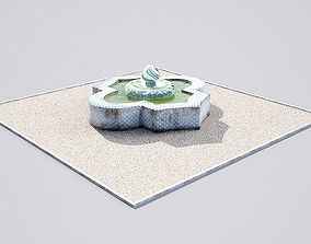 3D model fountain 19-01 AM148