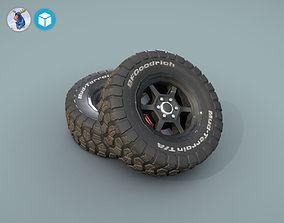 BFGoodrich wheels for car 3D model
