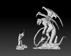 3D Gandalf vs Balrog