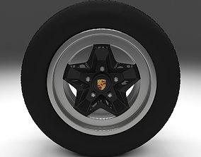 3D model Porsche Wheel v6