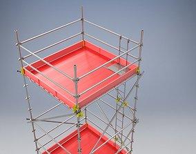 Scaffolding Tower 3D model