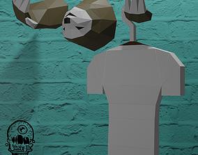 3D model SLOTH - CLOTH