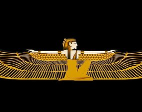 3D print model Ancient Egyptian Deities Pharaoh
