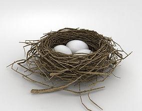 backyard Bird Nest 3D model
