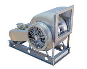 Industrial Blower Fan 3D model