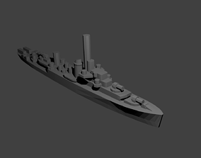 US Tacoma Class Frigate 3D printable model
