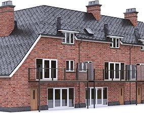 English Brick House 08 3D model