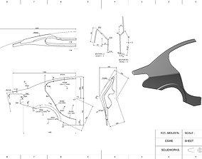 3D print model Car rear fender