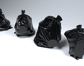 Trash Bag Set 3D