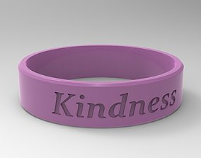 Kindness Ring Pink 3D print model