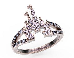 Ring Walt Disney 3D print model