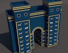 3D model Ishtar Gate