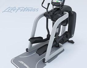 3D Elliptical trainer life fitness FlexStrider Discover SE