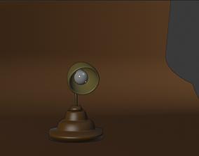 3D lamp low poly 3d model