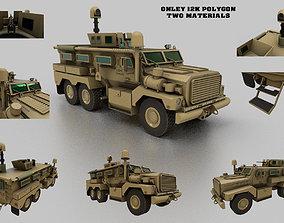 Cougar 6x6 MRAP 3D asset