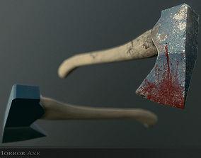 3D model Horror Axe Weapon