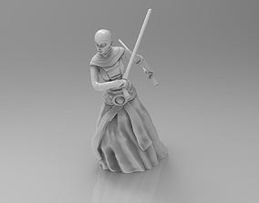 Female Space Assassin 3D printable model