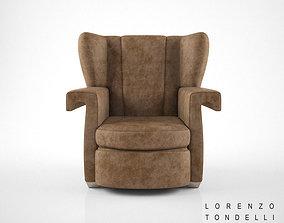 Lorenzo Tondelli Ava armchair 3D