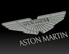 3D print model Aston Martin car logo